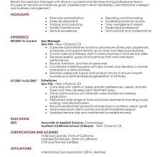 Beautician Resume Template Salon Manager Resume Best Salon Spa Or Fitness Manager Resume