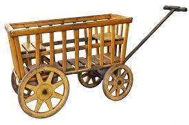 free photo cart handcart stroller wood car free image on