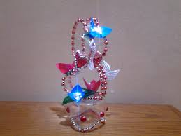 best out of waste plastic bottle transformed to lovely heart show