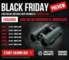 best black friday binoculars deals swarovski el swarovision 10x42 binoculars 34110 up to 600 off