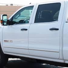 silverado sierra billet door handles gloss black paint code gba