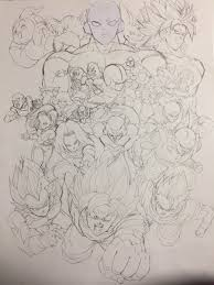 universal survival arc poster by youngjijii dbz