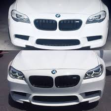 bmw headlights bmw f10 led hi lo for 520 528 535 550 headlight with dtm angel eyes