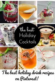 holiday cocktails pinterest u0027s finest holiday cocktail recipes page 2 of 2