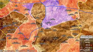 Isis Syria Map by Qasion News Agency Qasioun Map Syrian Regime Siege Isis Eastern