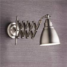 swivel arm wall light accordion cone swing arm wall l swing arm wall ls swings