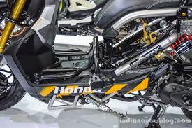 bentley zoomer honda zoomer x by kd shop floor board at 2016 bims indian autos blog