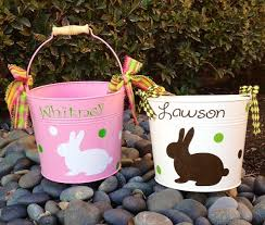 easter pails 115 best personalized pails easter sand images on