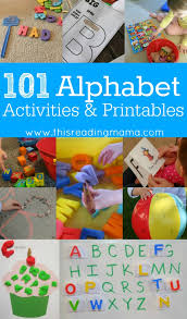 101 alphabet activities and printables