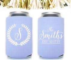 wedding koozies these custom wedding koozies by gracious bridal will keep your