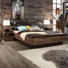 Schlafzimmer Bett 160x200 Bett Mit Bettkasten In Braun Ebay