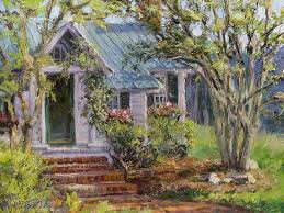 painting cottage heritage by artist l diane johnson