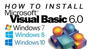 tutorial instal visual basic 6 0 di windows 7 how to install visual basic 6 0 on windows 7 8 8 1 10 youtube