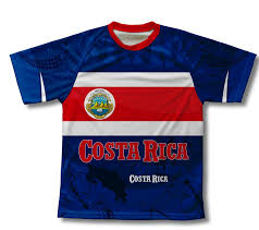 Costarican Flag Costa Rica Technical T Shirt For Men And Women At Amazon Men U0027s