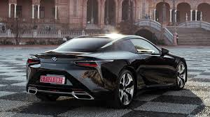 lexus coupe black 2018 lexus lc500 and lc500h review with price horsepower and