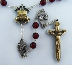 vatican rosary the warriors rosary all medals for this rosary an antique