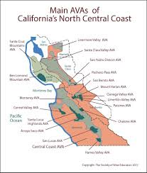 California Wine Country Map Map Of California Central Coast Wine Country You Can See A Map