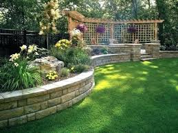 Landscaping Ideas For Sloped Backyard Landscaping Ideas For Sloped Yard Stunning Landscape Ideas For A
