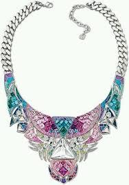 swarovski necklace blue stone images 229 best swarovski images accessories crystal jpg