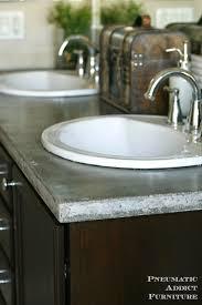 bathroom design magnificent concrete countertops colors granite