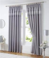 Pencil Pleat Curtain Tape Lined Curtains Eyelet Rings Or Pencil Pleat Tape Top Luxury Silver