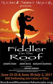 rockwall summer musicals announces cast for fiddler on the roof