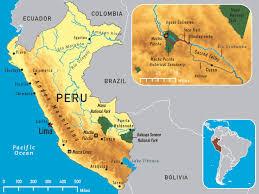 Political Map Of South America Map Of Peru Lima Machu Picchu Map Of South America Southwind