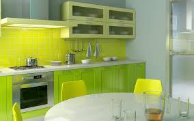 lime green kitchen tiles