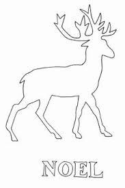 free reindeer clipart image reindeer silhouette baby