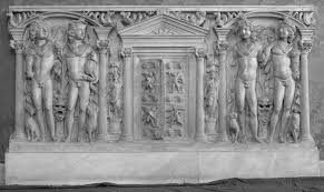 framing the dead on roman sarcophagi chapter 7 the frame in