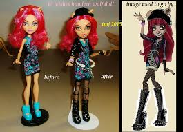 howleen wolf 13 wishes custom howleen wolf doll by thesmurfet on deviantart