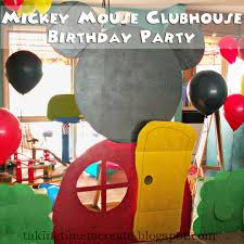 Diy Mickey Mouse Clubhouse Birthday Decorations Decorating Party