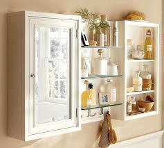 White Bathroom Cabinet With Mirror - medicine cabinet mirror adorable light brown finish varnished