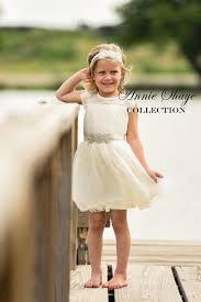 olivia dress by annie shaye flower dress ivory lace