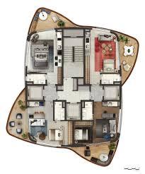 Best Apartment Floor Plans 20 Best Apartment Buildings Images On Pinterest Small Houses