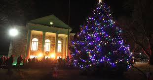 christmas trees and lights christmas tree and menorah lightings in lower hudson valley