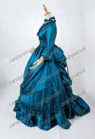high quality victorian edwardian bustle dress ball gown ca