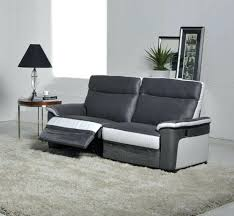 canap deux places relax articles with canape 2 places relax electrique tissu tag canape