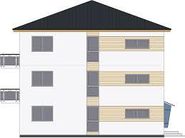 fertighaus 377 wd mehrfamilienhaus walmdach drevohaus