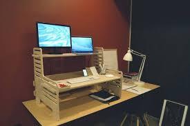 convert desk into standing desk 203
