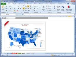 Data Mapping Excel Template Usa Excel Map Data Mapping With Premiumexcelmaps Templates