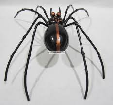 large metal spider decoration for the garden parties halloween