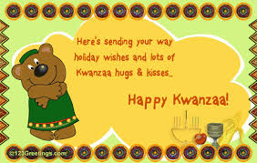 here s sending your way wishes and lots of kwanzaa hugs