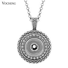 womens necklace pendants images Wholesale noosa ginger snap necklace button pendants with crystal jpg