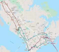 Boston Public Transportation Map by Emergency Snow Plan Service Hampton Roads Transit Bus Trolley
