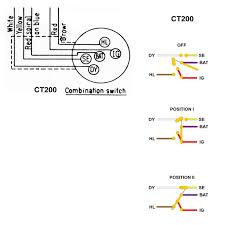 proper ignition switch and wiring diagram for 1964 ct200 trail 090