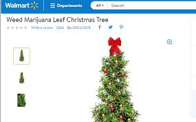 walmart is selling an artificial tree