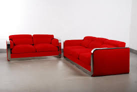 vintage italian two seater u0026 three seater sofa set from dada