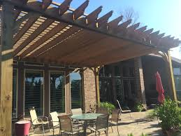 Solid Roof Pergola Kits by Texas Pergola Kits Pergola Depot