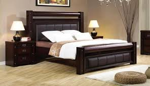 king bed frame with headboard bed mattress